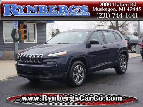 2014 Jeep Cherokee for sale at Rynbergs Car Co in Muskegon MI