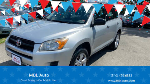 2009 Toyota RAV4 for sale at MBL Auto Woodford in Woodford VA