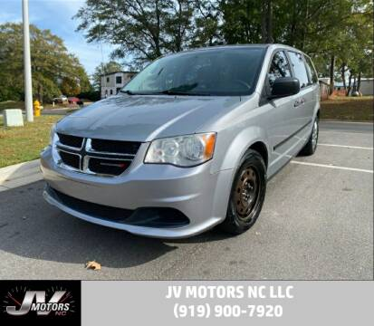 2014 Dodge Grand Caravan for sale at JV Motors NC LLC in Raleigh NC