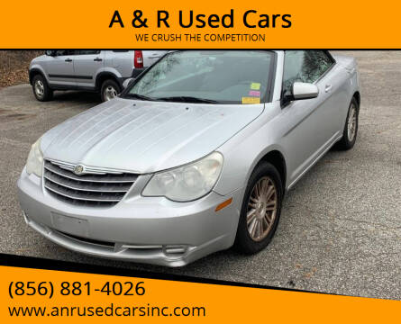 2008 Chrysler Sebring for sale at A & R Used Cars in Clayton NJ