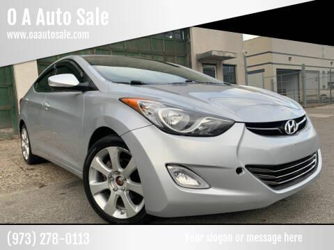 2011 Hyundai Elantra for sale at O A Auto Sale in Paterson NJ