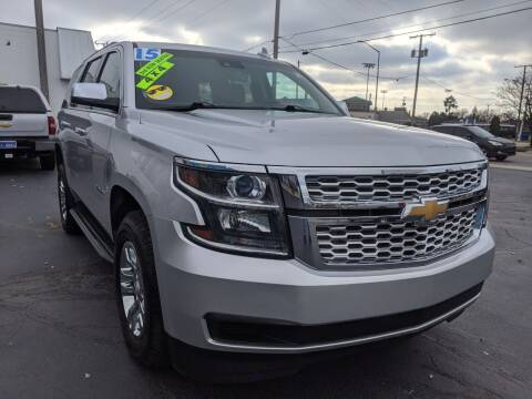 2015 Chevrolet Tahoe for sale at GREAT DEALS ON WHEELS in Michigan City IN
