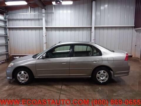 2004 Honda Civic for sale at East Coast Auto Source Inc. in Bedford VA