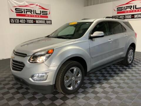 2016 Chevrolet Equinox for sale at SIRIUS MOTORS INC in Monroe OH