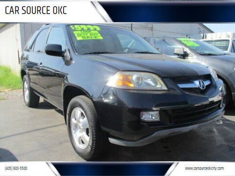 2004 Acura MDX for sale at CAR SOURCE OKC - CAR ONE in Oklahoma City OK