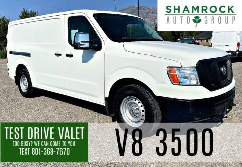 2016 Nissan NV Cargo for sale at Shamrock Group LLC #1 in Pleasant Grove UT