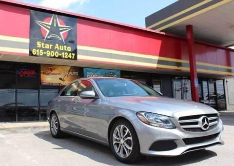 2016 Mercedes-Benz C-Class for sale at Star Auto Inc. in Murfreesboro TN