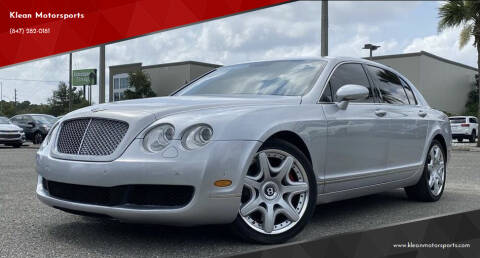 2007 Bentley Continental for sale at Klean Motorsports in Skokie IL