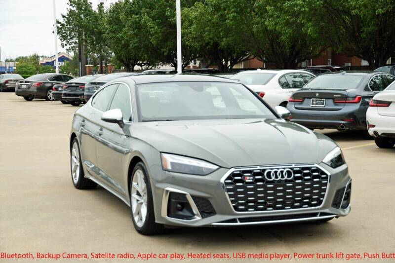 2020 Audi S5 Sportback for sale at Silver Star Motorcars in Dallas TX