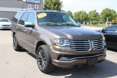 2015 Lincoln Navigator for sale at Road Runner Auto Sales WAYNE in Wayne MI