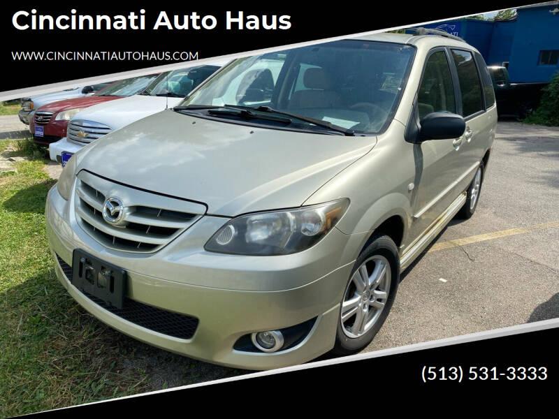 2005 Mazda MPV for sale at Cincinnati Auto Haus in Cincinnati OH