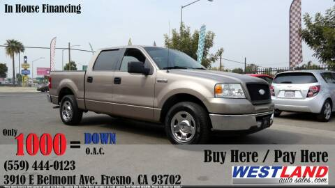 2006 Ford F-150 for sale at Westland Auto Sales in Fresno CA