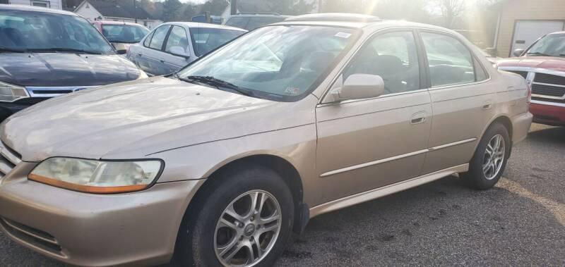 2002 Honda Accord for sale at AUTO NETWORK LLC in Petersburg VA