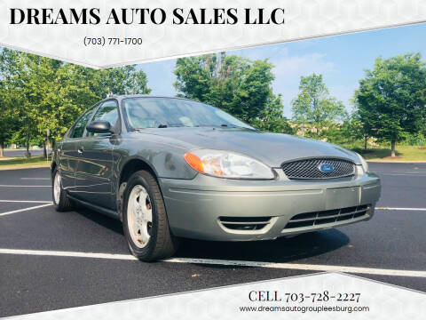 2004 Ford Taurus for sale at Dreams Auto Sales LLC in Leesburg VA