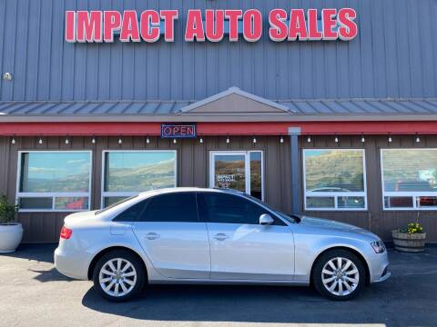 2013 Audi A4 for sale at Impact Auto Sales in Wenatchee WA
