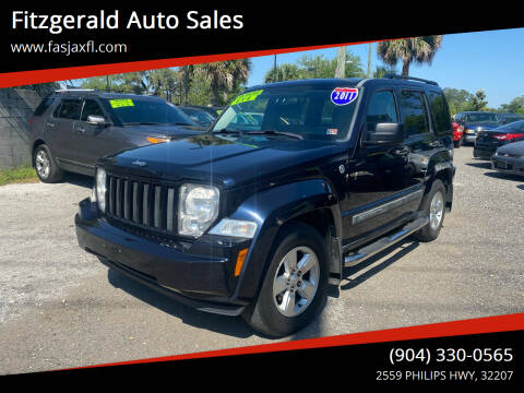 2011 Jeep Liberty for sale at Fitzgerald Auto Sales in Jacksonville FL