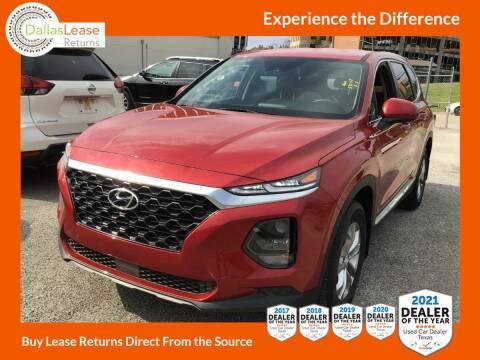 2020 Hyundai Santa Fe for sale at Dallas Auto Finance in Dallas TX