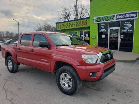 2012 Toyota Tacoma for sale at Empire Auto Group in Indianapolis IN