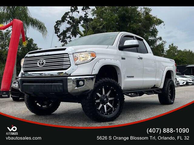2016 Toyota Tundra for sale at V & B Auto Sales in Orlando FL