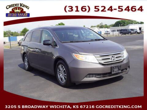2012 Honda Odyssey for sale at Credit King Auto Sales in Wichita KS