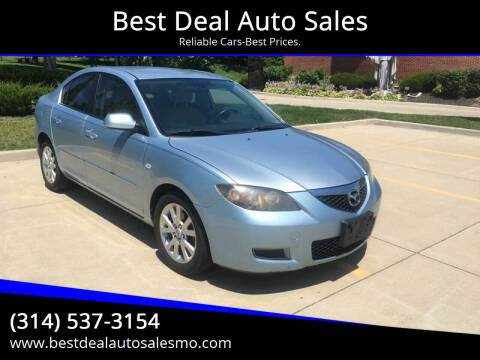 2007 Mazda MAZDA3 for sale at Best Deal Auto Sales in Saint Charles MO