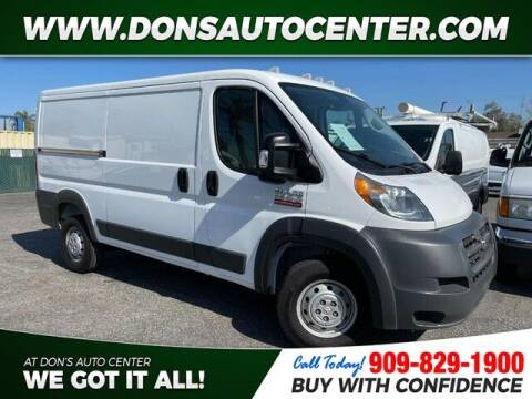 2017 RAM ProMaster Cargo for sale at Dons Auto Center in Fontana CA