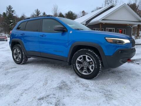 2019 Jeep Cherokee for sale at Drivers Choice Auto & Truck in Fife Lake MI