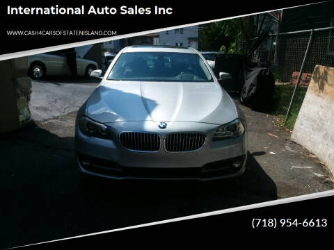 2016 BMW 5 Series for sale at International Auto Sales Inc in Staten Island NY