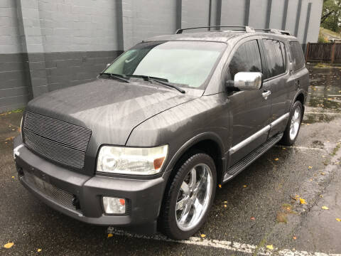2004 Infiniti QX56 for sale at APX Auto Brokers in Lynnwood WA