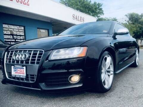 2009 Audi S5 for sale at Trimax Auto Group in Norfolk VA