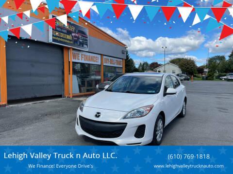 2013 Mazda MAZDA3 for sale at Lehigh Valley Truck n Auto LLC. in Schnecksville PA