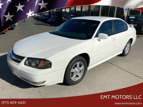 2005 Chevrolet Impala for sale at EMT MOTORS LLC in Portland OR