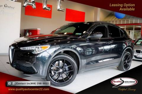 2018 Alfa Romeo Stelvio for sale at Quality Auto Center of Springfield in Springfield NJ