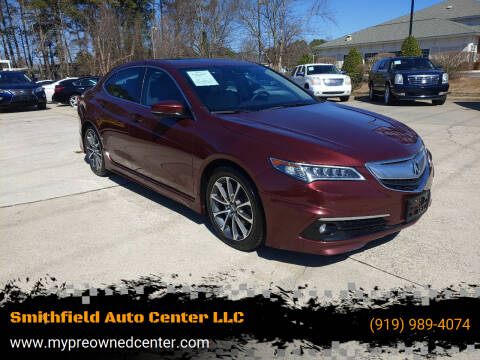 2015 Acura TLX for sale at Smithfield Auto Center LLC in Smithfield NC