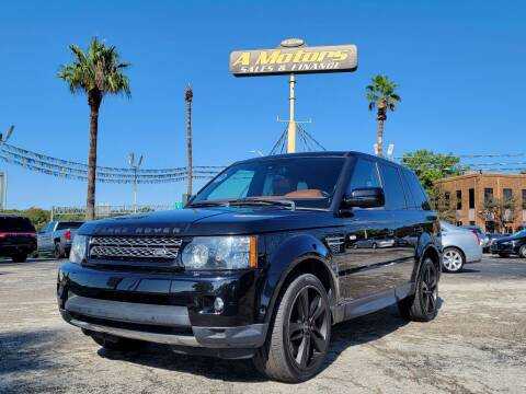 2013 Land Rover Range Rover Sport for sale at A MOTORS SALES AND FINANCE in San Antonio TX
