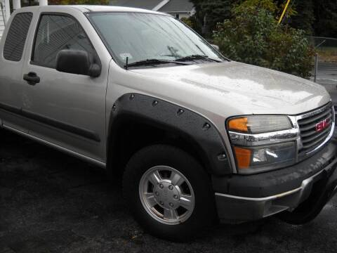 2004 GMC Canyon for sale at Best Wheels Imports in Johnston RI