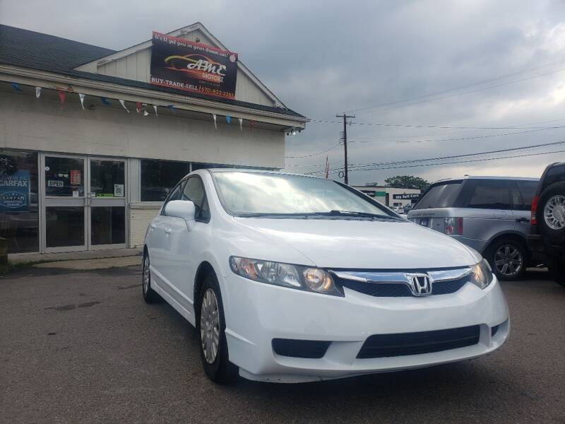 2010 Honda Civic for sale at AME Motorz in Wilkes Barre PA