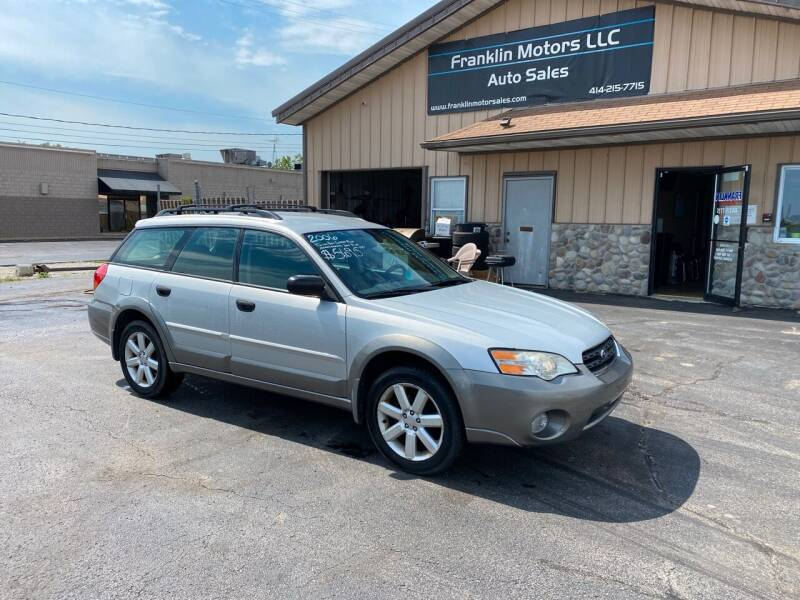 2006 Subaru Outback for sale at Franklin Motors in Franklin WI