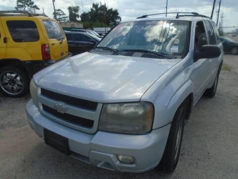 2008 Chevrolet TrailBlazer for sale at SCOTT HARRISON MOTOR CO in Houston TX