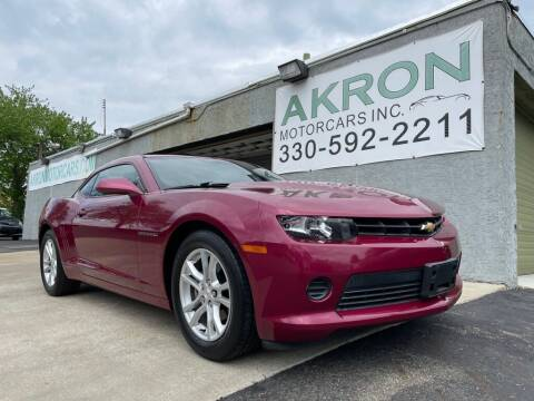 2014 Chevrolet Camaro for sale at Akron Motorcars Inc. in Akron OH