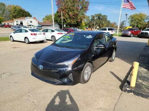 2016 Toyota Prius for sale at Clare Auto Sales, Inc. in Clare MI