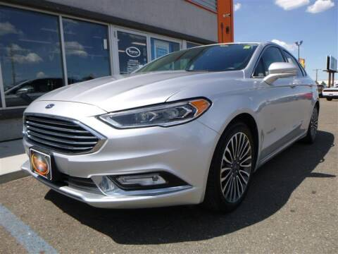 2017 Ford Fusion Hybrid for sale at Torgerson Auto Center in Bismarck ND