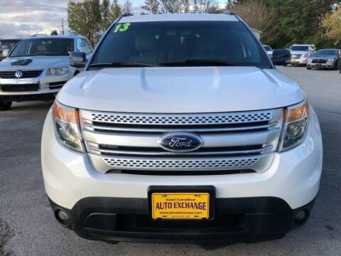 2013 Ford Explorer for sale at Greenville Motor Company in Greenville NC