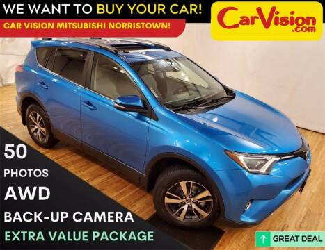 2017 Toyota RAV4 for sale at Car Vision Mitsubishi Norristown in Trooper PA