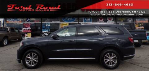 2015 Dodge Durango for sale at Ford Road Motor Sales in Dearborn MI
