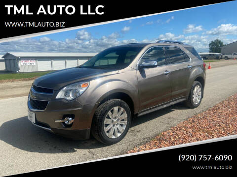 2010 Chevrolet Equinox for sale at TML AUTO LLC in Appleton WI