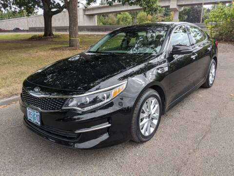 2016 Kia Optima for sale at EXECUTIVE AUTOSPORT in Portland OR