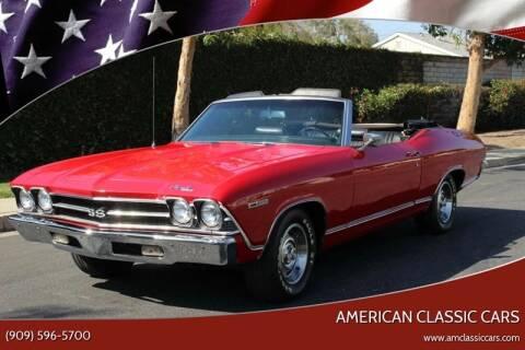 1969 Chevrolet Chevelle Malibu for sale at American Classic Cars in La Verne CA