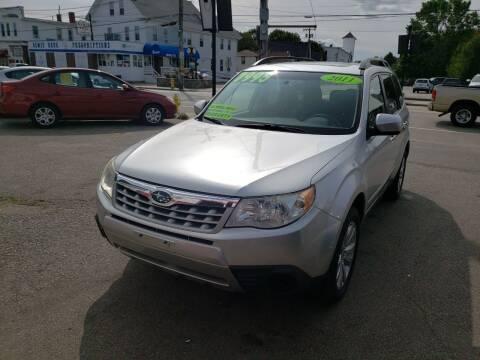 2011 Subaru Forester for sale at TC Auto Repair and Sales Inc in Abington MA