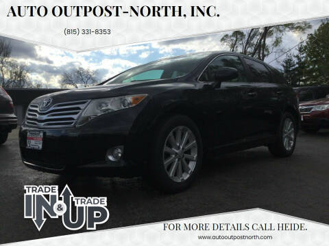 2010 Toyota Venza for sale at Auto Outpost-North, Inc. in McHenry IL